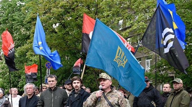 Активисты ОУН сообщили оботравлении газом вСвятошинском суде столицы Украины