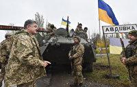 Жители Авдеевки отказались общаться по-украински
