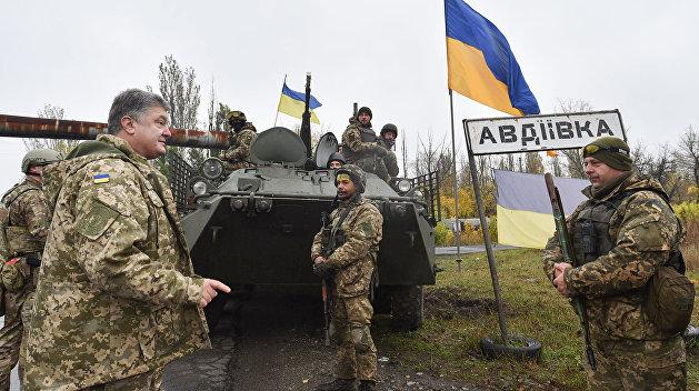 Украинские военные похвастались захватом села в Луганской области