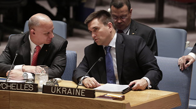 Климкин объявил о передаче в ООН резолюции, которая вернет Крым в состав Украины