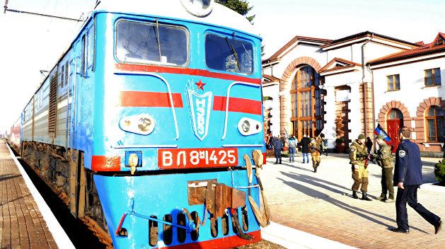 ДНР планирует запустить железнодорожное сообщение сРоссией
