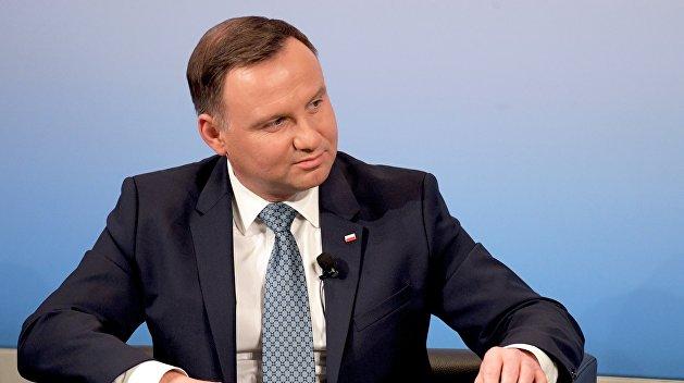 Президент Польши обратился кПорошенко всвязи с«антипольскими взглядами»