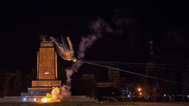 Восточная Украина стала лидером по декоммунизации