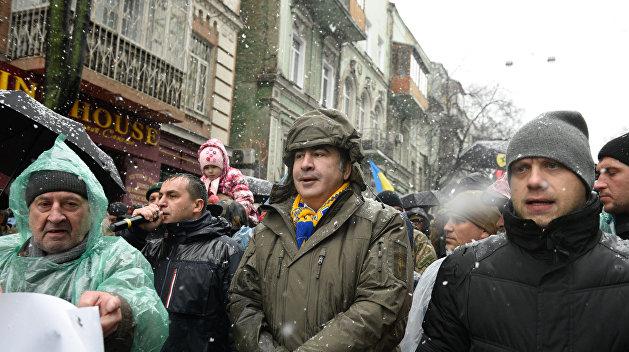 Надоели: Геращенко просит сторонников Саакашвили разойтись