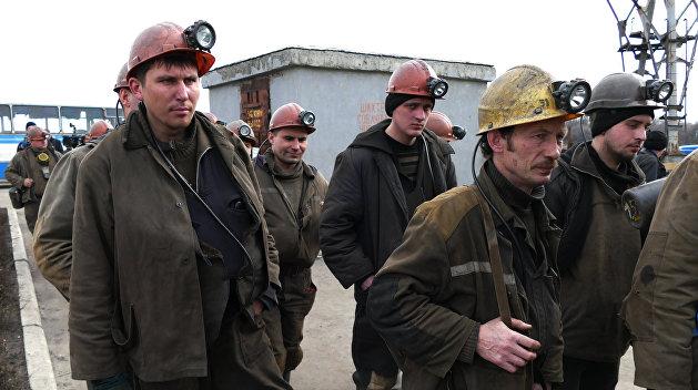 Волынские шахтеры объявили забастовку