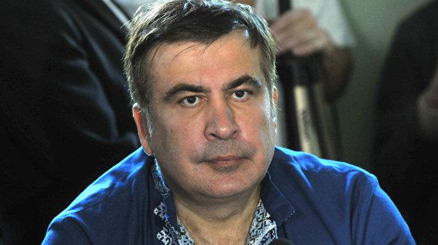 Cаакашвили призвал народ объявить импичмент Порошенко