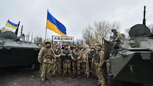 На Украине заявили о снижении интенсивности боев в Донбассе