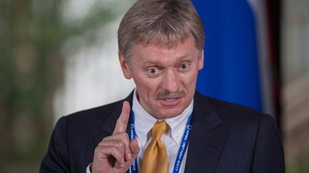 Песков анонсировал Украине «взаимность» из-за задержания российских журналистов