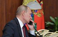 Кремль подтвердил разговор Путина и Порошенко