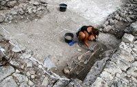В зоне строительства Крымского моста нашли свыше миллиона артефактов
