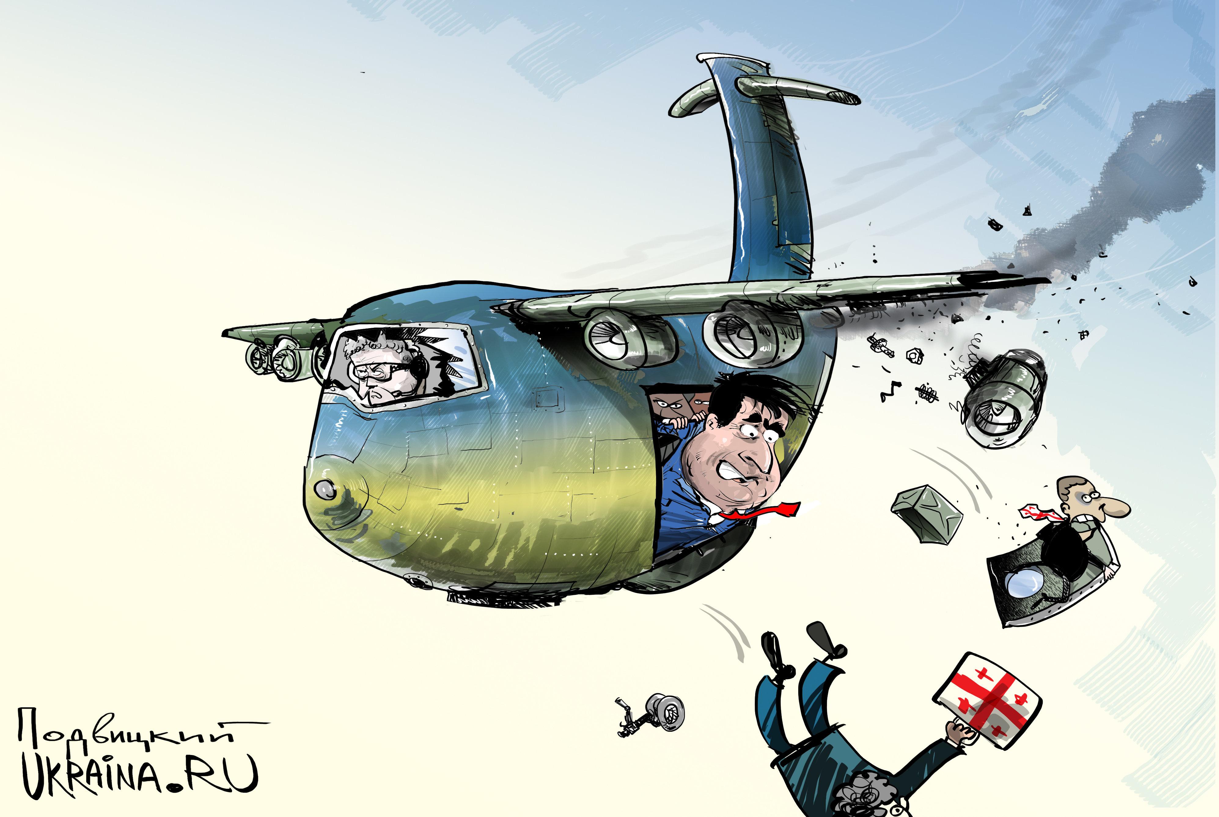 Михо за бортом: Саакашвили выдавливают из украинской политики и Украины