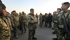 Президент Украины поручил проработать отмену АТО