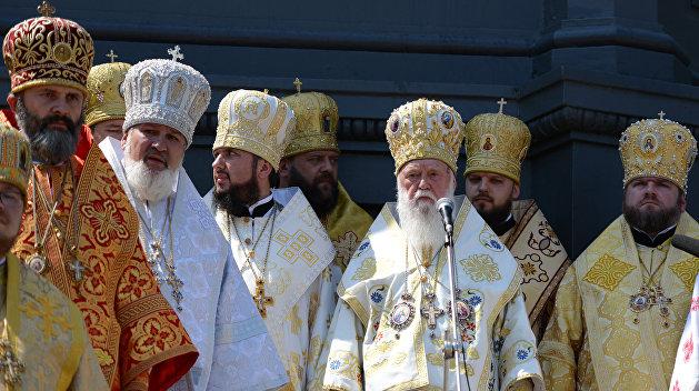 УПЦ: В послании Филарета нет ни слова об автокефалии