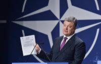 Порошенко пообещал референдумы о членстве Украины в НАТО и ЕС
