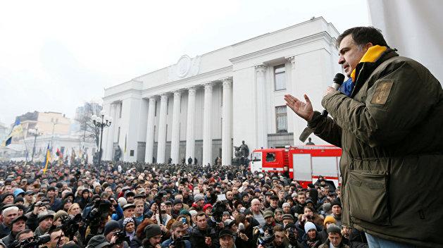 Саакашвили требует отставки руководства ГПУ и СБУ