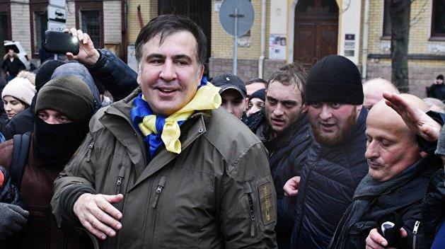 Данные о Саакашвили поместили в раздел «скрывающиеся от власти» на сайте МВД