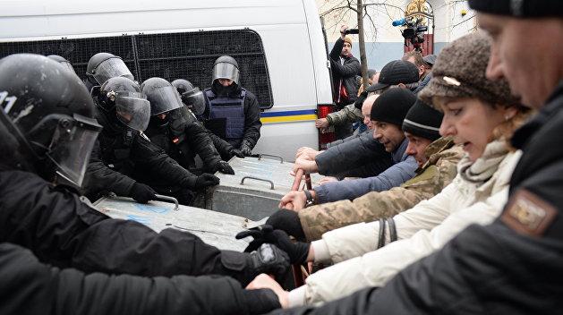 Сторонники Саакашвили пригрозили прийти домой к генеральному прокурору Украинского государства