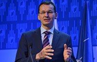 Премьер-министр Польши: «Северный поток-2» угрожает безопасности Центральной Европы
