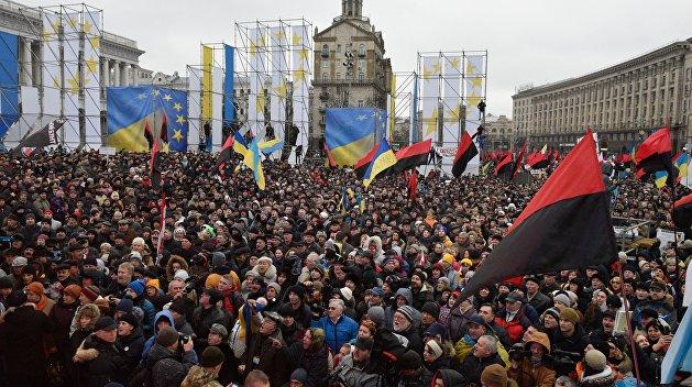 Появилось видео, как Саакашвили призывал наштурм Октябрського дворца