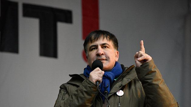 Саакашвили опять решил свергнуть Порошенко