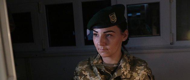 Украинские пограничники задержали крымчанку, служившую в ВСУ