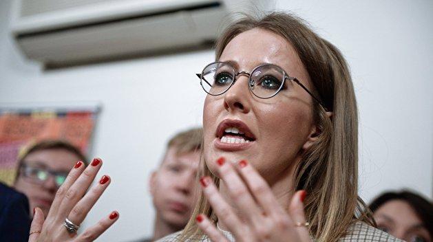 В украинском посольстве не нашлось запроса Собчак о посещении Крыма