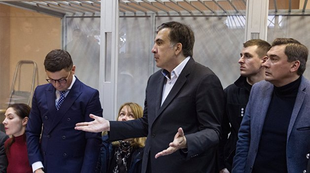 Саакашвили пообещал прийти надопрос вСБУ 26декабря