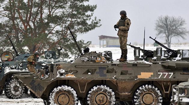 Украинские силовики открыли огонь по пригороду Горловки