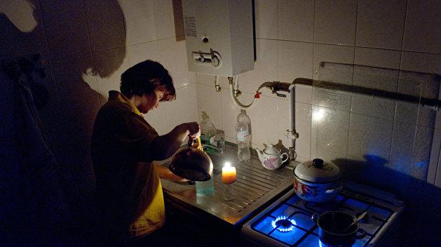 238 населенных пунктов Украины остались без света