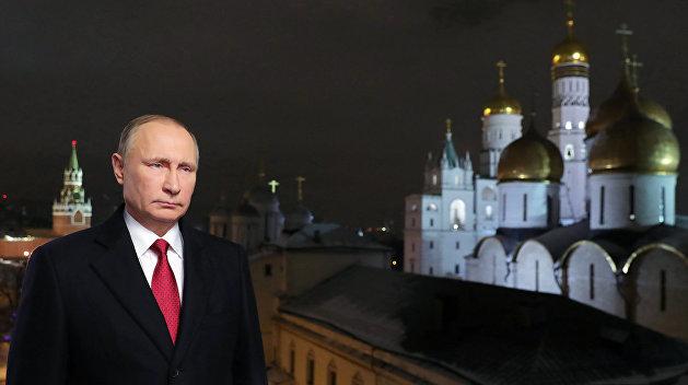 Путин вновогоднем поздравлении Трампу напомнил оконструктивном разговоре