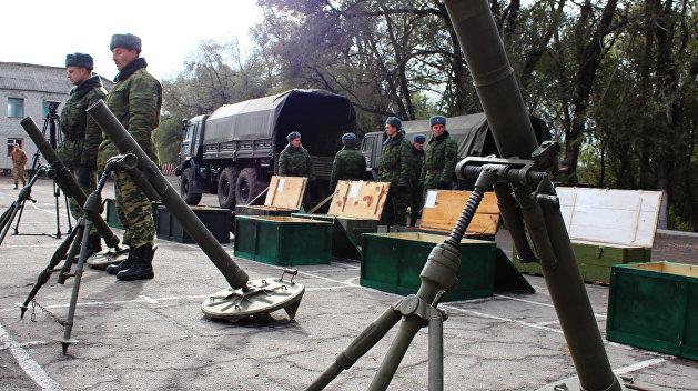 ВЛНР поведали о расположенном около линии соприкосновения оружии ВСУ