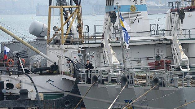 Украинский генерал потребовал от России ремонта кораблей ВМС