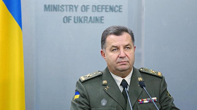 Полторак рассказал, когда в Донбасс прибудут американские ракеты