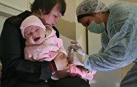 Эпидемиолог: Украине грозят еще полиомиелит и коклюш