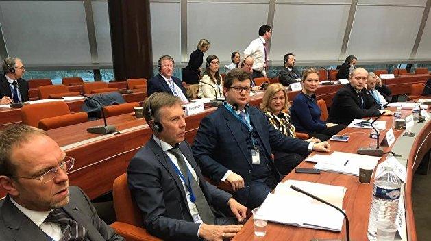 Это какой-то позор: Украинских политиков выставили с заседания комитета ПАСЕ