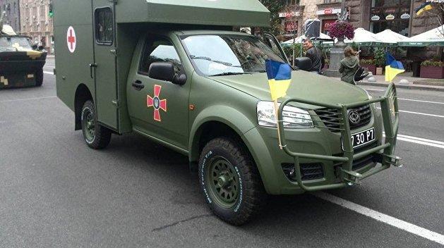 В Минобороны решили прекратить выпуск авто с партнером Порошенко