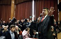 Олейник: Саакашвили чувствует, что наступает конец эпохи Петра Мальдивского