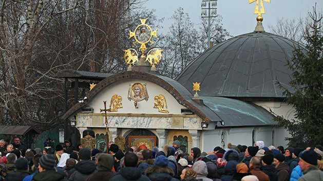 «Вести»: Рука Перуна. Зачем радикалы терроризируют церковь в центре Киева