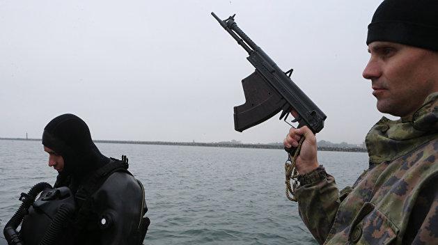 Боевые пловцы Черноморского флота России круглые сутки ловят диверсантов