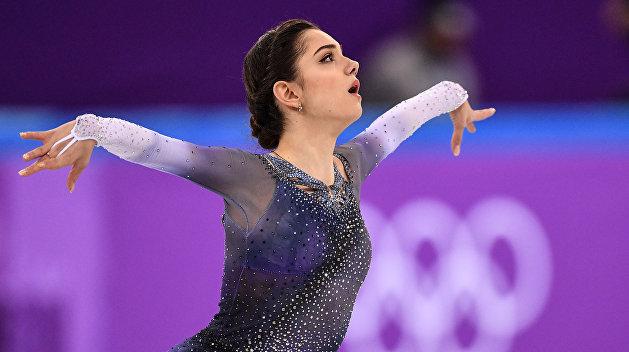 Российская фигуристка побила рекорд мира в командном турнире на Олимпиаде