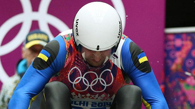 Украинец на Олимпиаде выпал из саней, но продолжил гонку