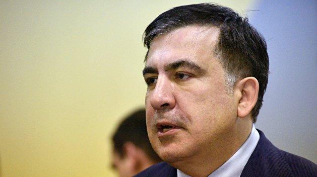 Саакашвили продемонстрировал голландский «аусвайс» и заявил, что недоволен