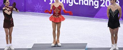 Защитница Отечества: Фигуристка Загитова выиграла первое золото для России на Олимпиаде