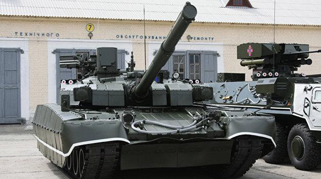 СМИ узнали обэкспорте украинского танка «Оплот» вСША