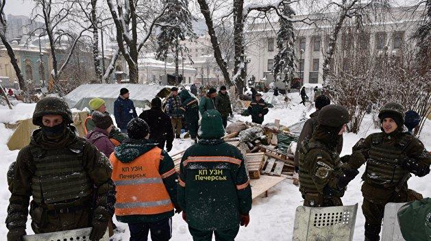 Разгон МихоМайдана как чистка оружия