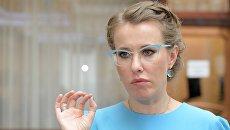 Власти Украины пригрозили Собчак запретом на въезд в страну