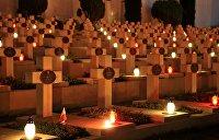 Во Львове бросили взрывчатку у польского кладбища «Орлят львовских»