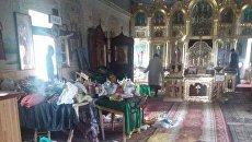 Злоумышленники осквернили храм УПЦ МП в Одесской области