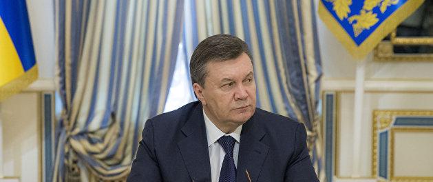 Порошенко хочет вернуть Януковичу статус президента