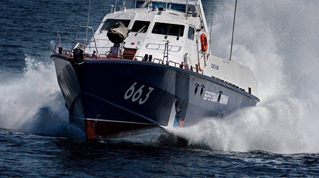 Российские пограничники подтвердили задержание украинских рыбаков